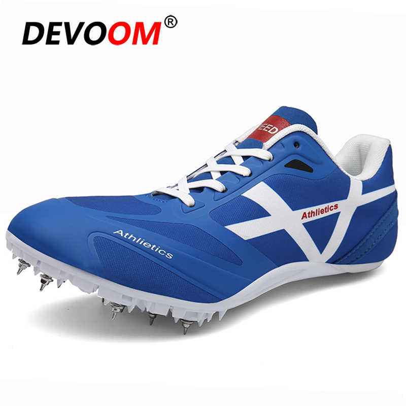 Men Women Track and Field Shoes Mesh