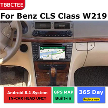 Android car dvd gps multimedia player For Mercedes Benz CLS Class W219 2004~2010car dvd navigation radio video audio