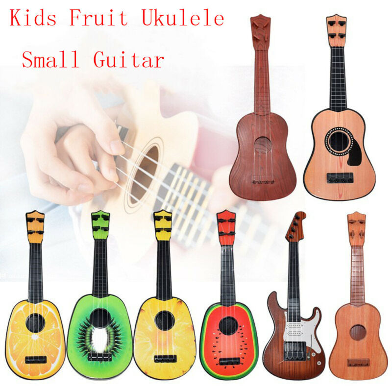 Children Kids Musical Toys Fruit Ukulele Ukelele Small Guitar Musical Instrument Educational Toy Hot