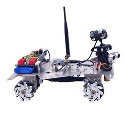 XR Master Omni-Directionele Mecanum Wiel Robot Educatief Speelgoed Cadeau Voor Kid Kinderen Adult-WIFI + Bluetooth Versie /WIFI Versie