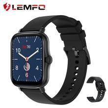 Lemfo p8 plus relógio inteligente 2021 1.7 polegada toque completo masculino fitness tracker ip67 à prova dip67 água mulher gts 2 smartwatch para xiaomi telefone