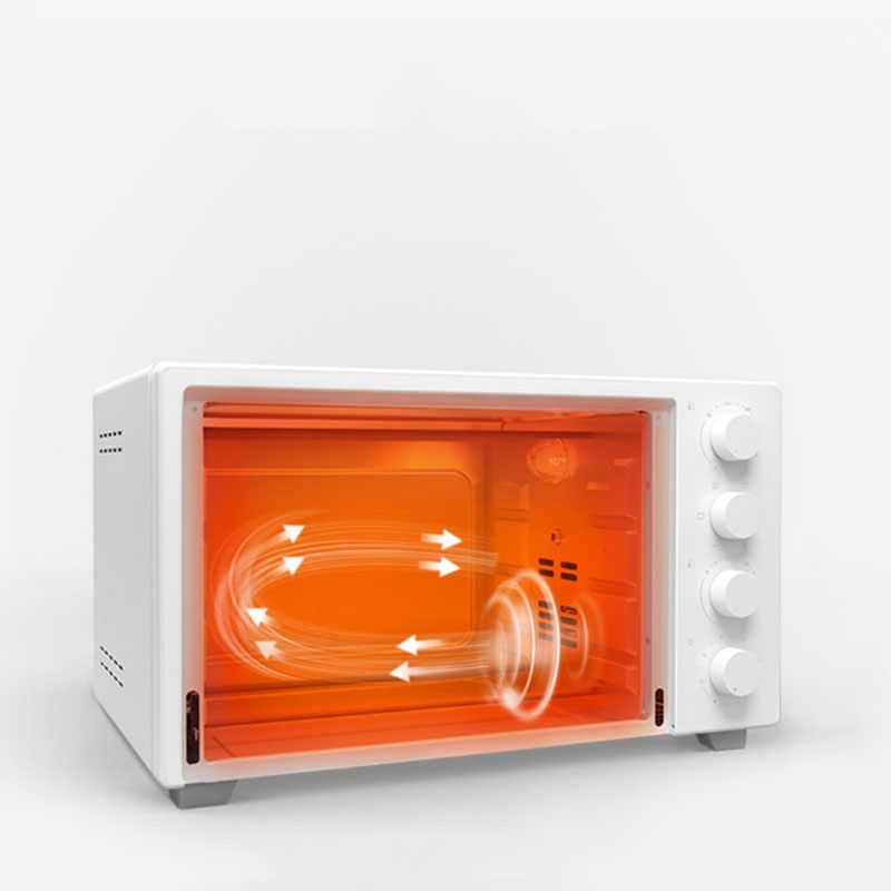 220V 1600W 32L Hộ Gia Đình Nướng Thức Ăn Thông Minh Lò Nướng Điện Nhiệt Độ Không Đổi Điều Khiển Cho Nhà Văn Phòng