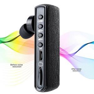 Image 1 - 耐久性のあるイヤホン多機能 R12 デジタルボイスレコーダー録音ペン bluetooth ハンズフリーヘッドセット MP3 プレーヤー