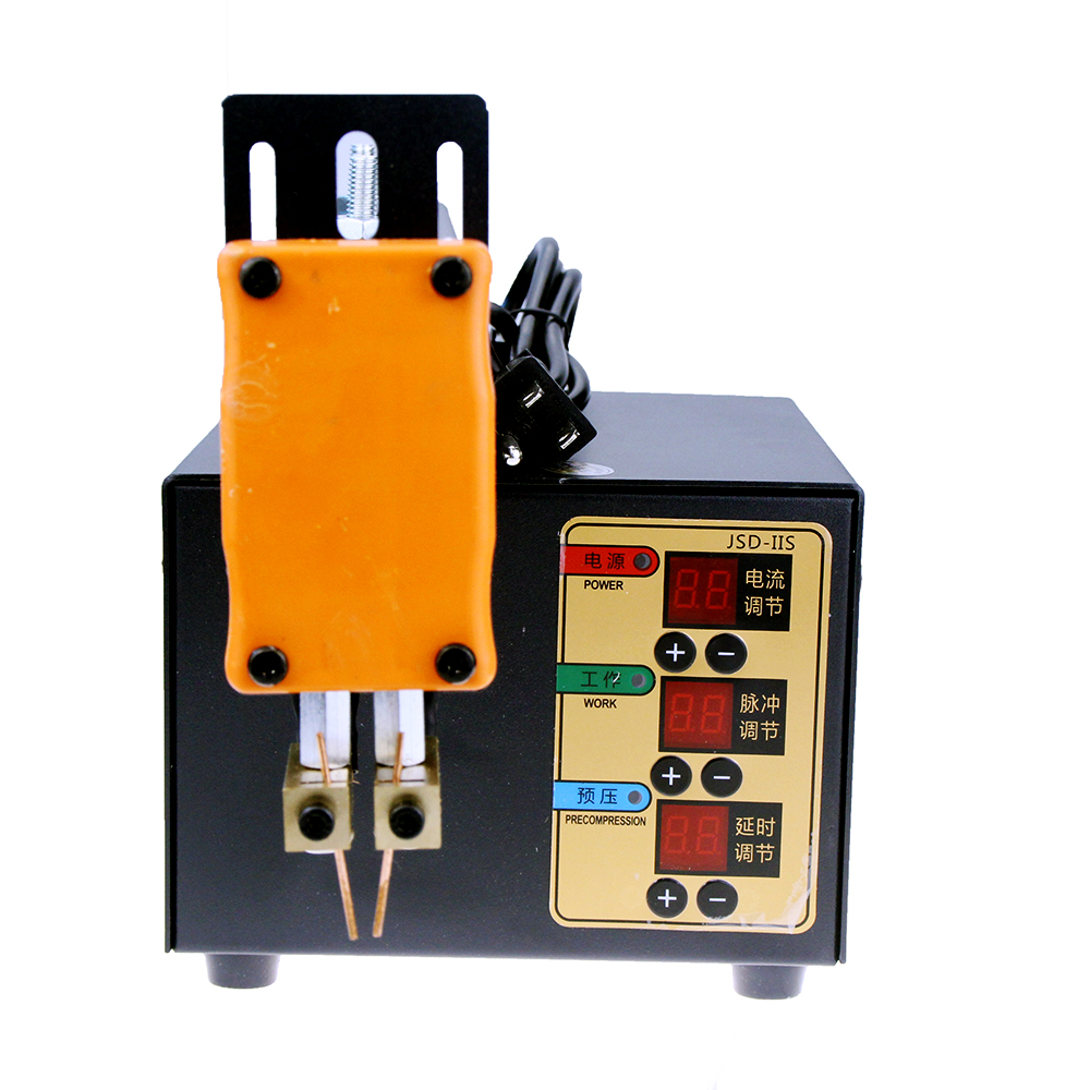JSD-IIS 3KW Point Welding Machine Household Handheld Spot Welding Machine Small Battery Pack Welder Lithium Battery Welder