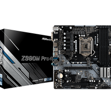 ASRock Z390M Pro4 For Intel LGA 1151 Socket SATA3 Ultra M.2 Interface USB 3.1 Type A+C DDR4 Micro ATX Desktop Mainboard