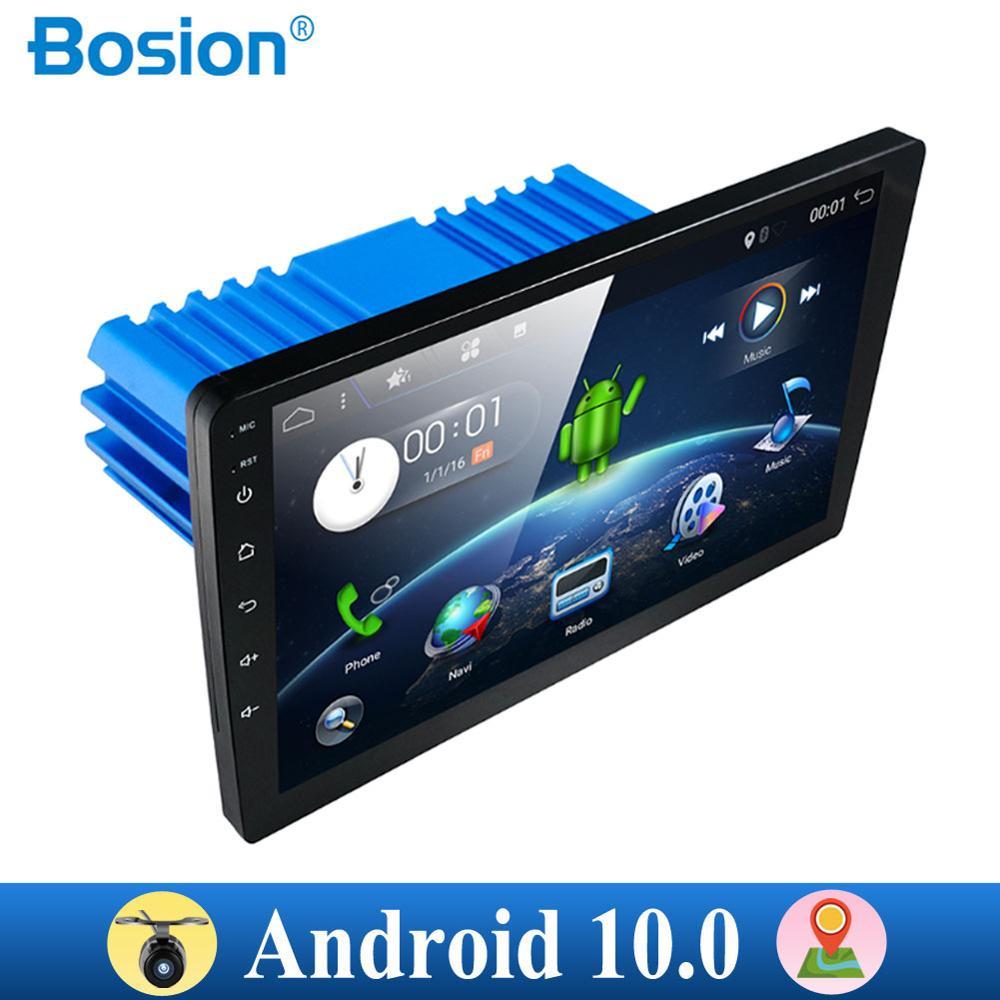 1 Din DSP Android 10 PX6 Multimedia DVD Video Player GPS Navigation Car Radio Stereo Wifi BT HDMI Carplay TV OBD DAB SWC 4G+64G