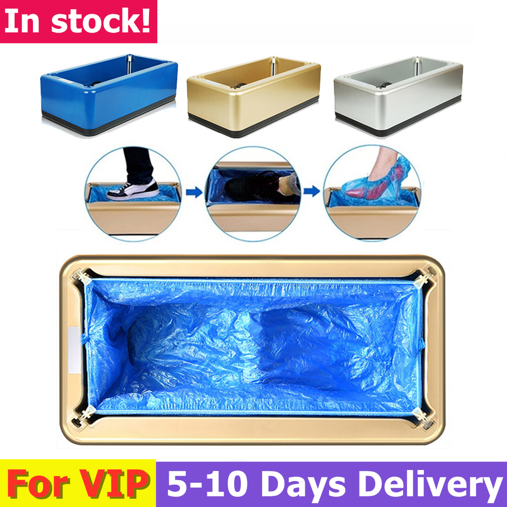 For VIP Customer Automatic Shoe Cover Dispenser 100pcs Shoe Covers Automatic One-time Film Machine Foot Set Shoes Home Office