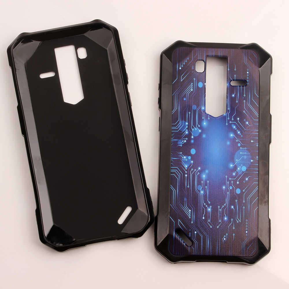 Ponsel Casing untuk Ulefone Baju Besi 6 6E 6S 6.2 Inci Solf TPU Silikon Mobile Kasus DIY Perumahan Handset Yang Disesuaikan shell Cellphone Cover