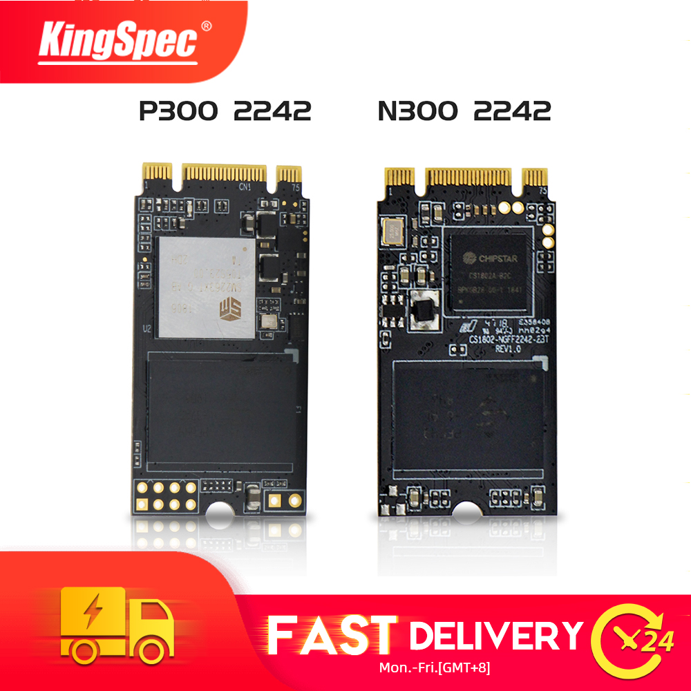 KingSpec M.2 2242 SATA NGFF&NVMe PCIe SSD 512GB 128GB 256GB 1TB 2TB M2 Ssd Ngff M.2 NVMe Internal Sdd For Laptop Desktop PC