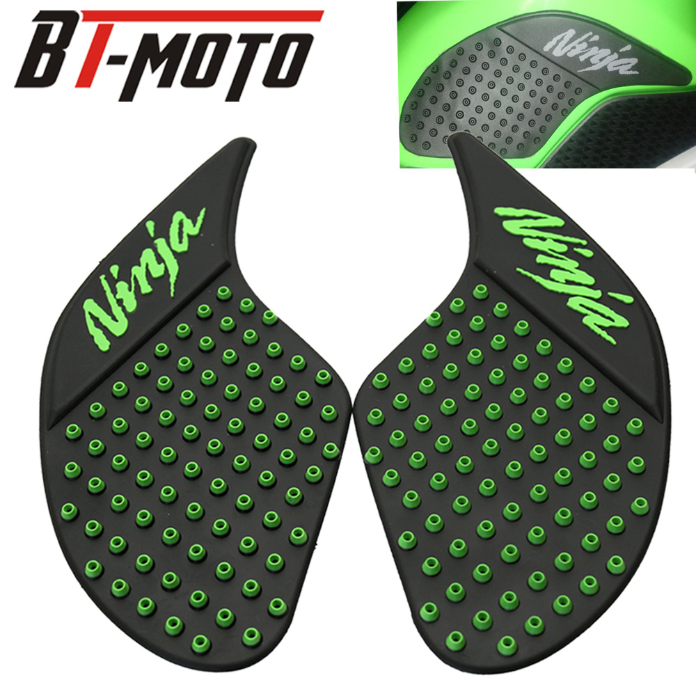 For Kawasaki NINJA 250 300 Knee Grip Z250 Z 250 Protector Anti Slip Sticker 2013 2014 2015 2016 Side Tank Pad