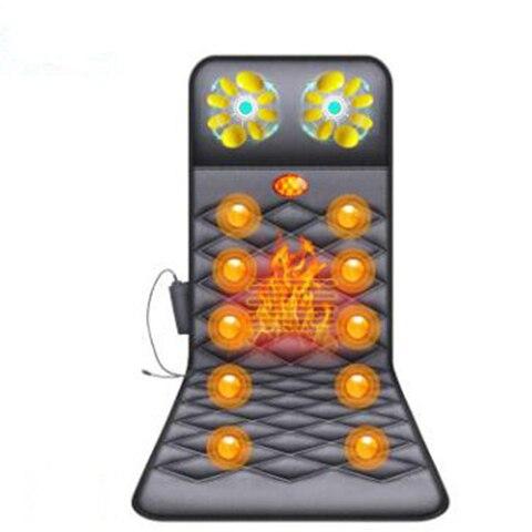 geral eletrica multi funcional massageador domestico massagem colchao aquecimento vibracao massagem