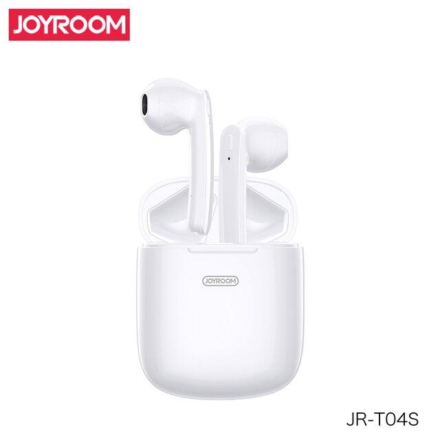 JOYROOM T04S TWS Bluetooth סטריאו רעש אוזניות ביטול אלחוטי סטריאו אוזניות אוזניות עם מיקרופון עמיד למים HIFI באיכות