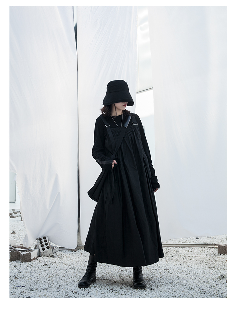 New Fashion Style Black Pleated Slash Neck Big Hem Long Dress Fashion Nova Clothing