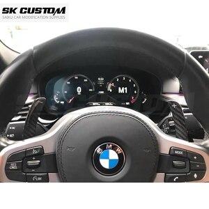 Image 4 - Cambio Paddle in fibra di carbonio per BMW M5 F90 F97 F98 X3 G01 X4 G02 X5 G05 X6 G06 G29 X3M X4M estensione volante