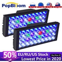 PopBloom lumière Led daquarium Marine Led éclairage de Led pour Aquarium récif Led lumière de réservoir de Led pour Aquarium pour corail lampe de culture Turing30