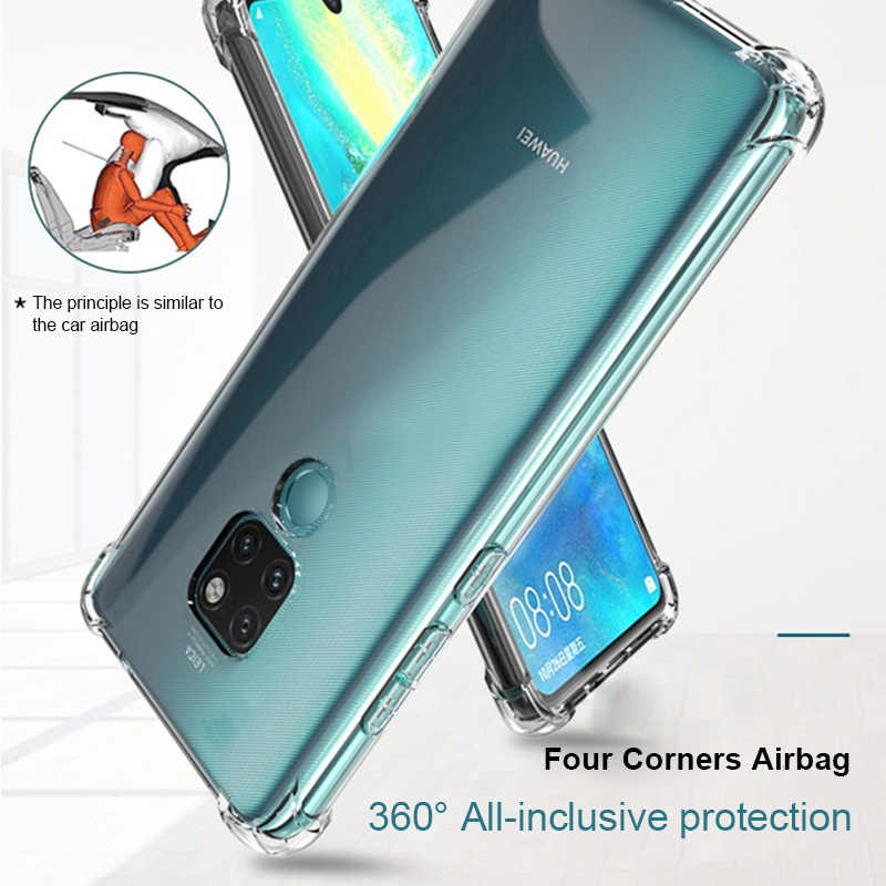 36D Shockproof Phone Case For Huawei P20 P30 Lite Honor 9 Lite 10 V10 20 Pro P10 P9 Nova 2i 3i 3 3e P Smart Mate 10 20 Cover Bag