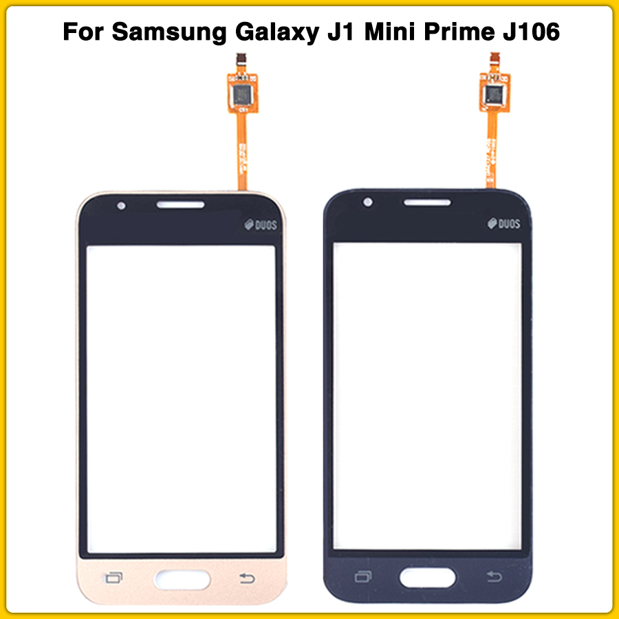 New Touchscreen For Samsung Galaxy J1 Mini Prime J106 J106H J106F SM-J106F Touch Screen Panel Digitizer Sensor Front Glass