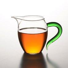 Термостойкая толстые кувшин боросиликатного Стекло Чай горшок чайный набор кунг-фу Чай кувшин для воды большой Размеры бытовой общественного чашки