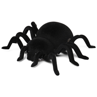 Electric Remote Control Car Spider Wall Creeping Toy Scary Prank Halloween Toys M09