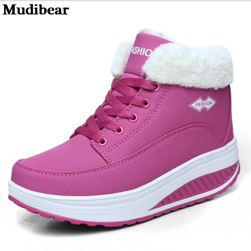 Купить mudibear 2020 зимние новые женские хлопковые туфли удобные увеличенные