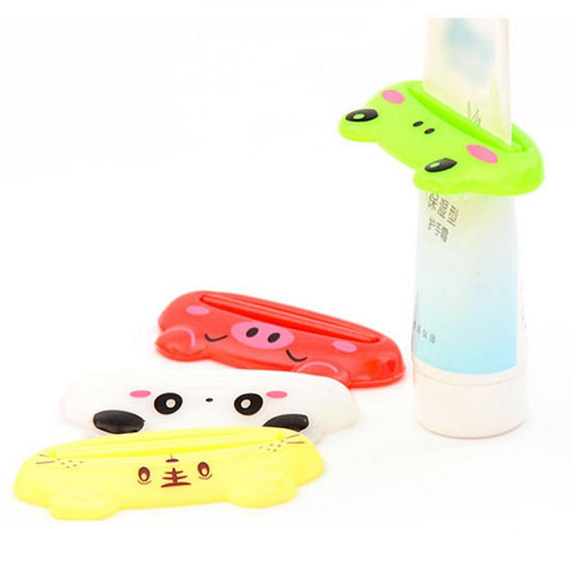 Multifunction Toothpaste Tube Squeezer Cheap Tooth Paste Holder Portable Plastic Toothpaste Dispenser Bathroom Accessories Sets