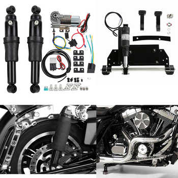 Motorcycle Rear Air Ride Suspension Electric Center Stand For Harley Road King Electra Glide Road Glide Street Glide 2009-2016 - DISCOUNT ITEM  38% OFF All Category