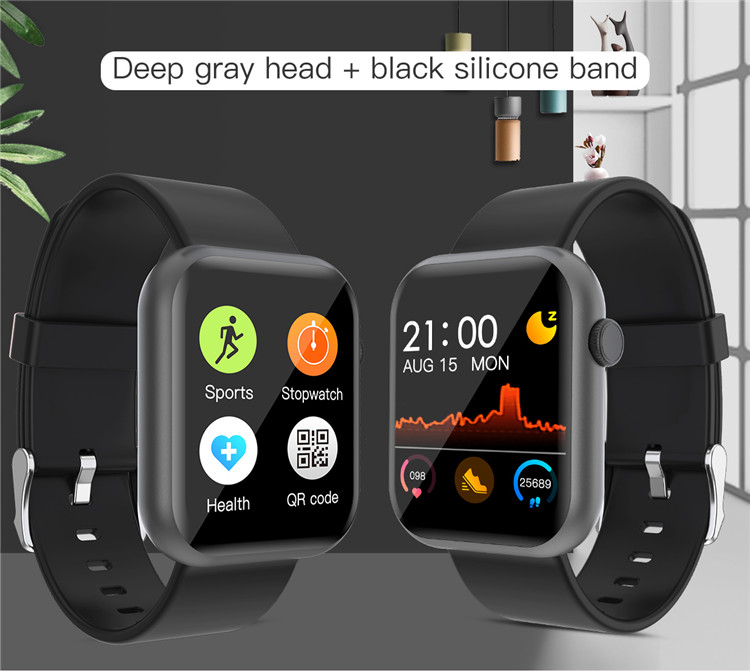 H31e561fc528a48a49e2fcedf824a187b5 Oxygen Monitor Smart Watch 2020 Blood Pressure Smartwatch