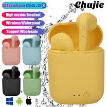 Mini-2 Bluetooth Earphones Wireless Headset Waterproof Headphones For Xiaomi Samsung Iphone  Sports Earbuds TWS Music Earpieces