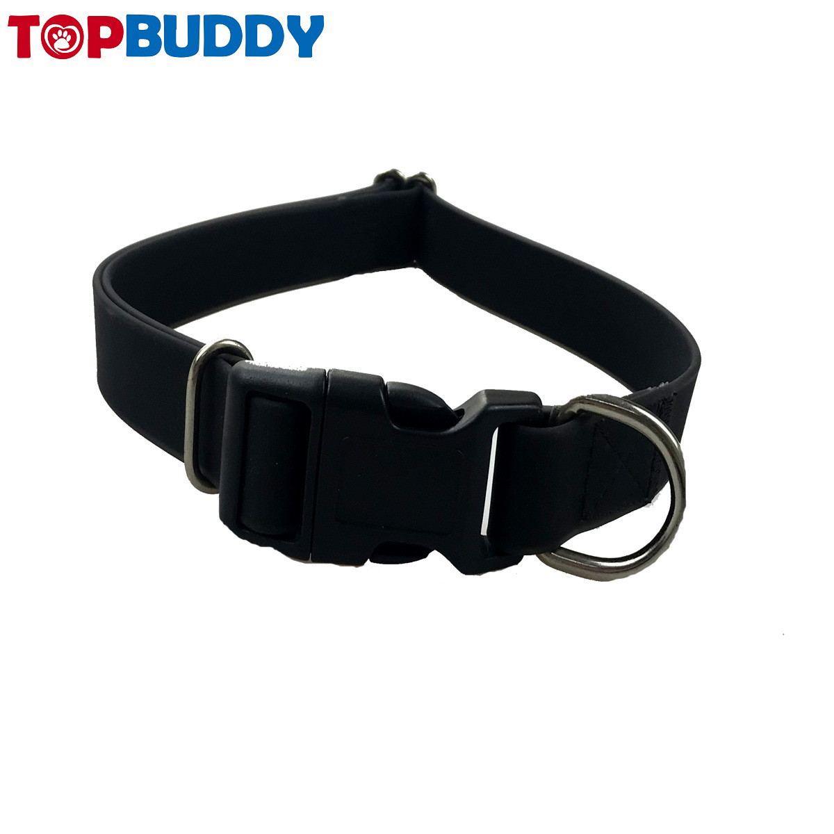 Pet Supplies Silica Gel Neck Ring Dog Neck Ring Fashion Dog Neck Ring Reflective Proof Punch Hand Holding Rope Customizable