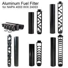 Aluminum Tuning Car Oil Fuel Filter Solvent Trap for SKS SCS 22lr 1/2-28 5/8-24 NAPA 4003 WIX 24003 6 10 12 Inch Black Titanium