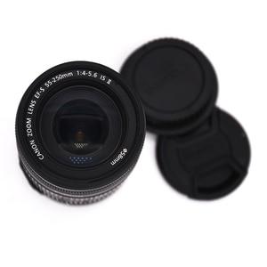 Image 2 - משמש Canon EF S 55 250mm f/4 5.6 הוא II טלה זום עדשה עבור Canon EOS DSLR מצלמות