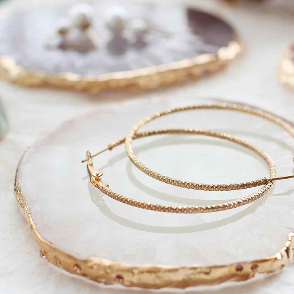 jewelry organizer Resin Jewelry Necklace Ring Earrings Display Plate Tray Holder Dish Organizer Jewelry Display Plate Necklace N