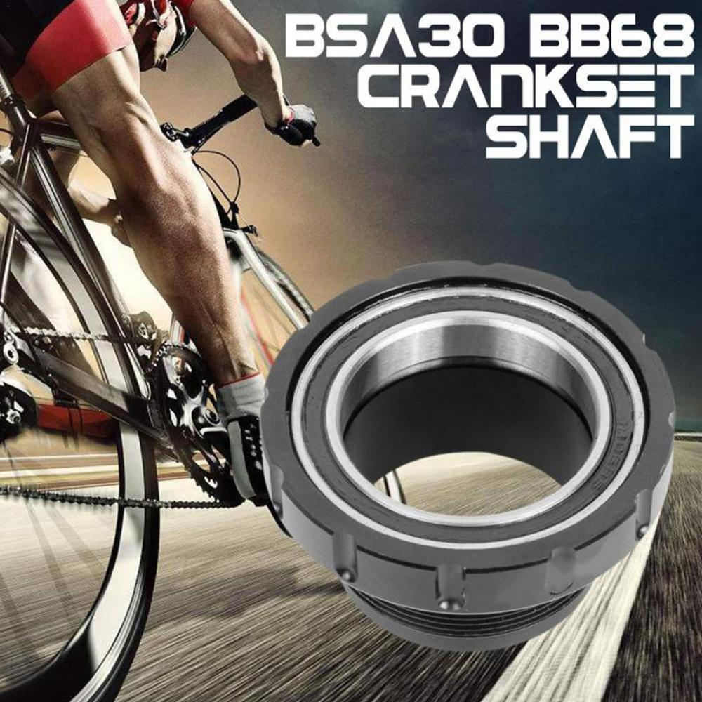 BSA30 Bottom Brackets BSA68 BSA ISO 68mm 73 MTB Road bike External Bearing Bottom Brackets for BB386 30mm Crankset|Bottom Brackets| |  - title=