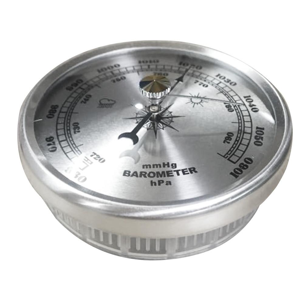 70 мм термометр барометр датчик давления воздуха дома настенный атмосферный металл точность аналоговый портативный метеостанция