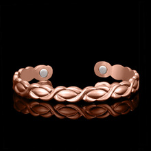 magnetic bracelet rose gold open Bracelet in Europe and the United States Yiwu small commodities on behalf of one hair