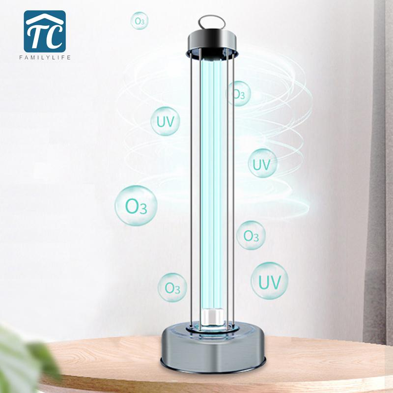 100W Germicidal UV Lamp Sterilizer Mobile Disinfection Lamp Household Ultraviolet Sterilizer App Remote Control UVC Light