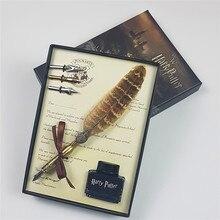 Pluma de tinta Vintage para Fans, pluma de inmersión mágica, regalo de cumpleaños, recuerdos de graduación, 2020