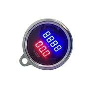 Universal Motorrad RPM Tachometer Elektronische Digital LED Voltmeter Gauge-in Abgas-Temperatur-Messgerät aus Kraftfahrzeuge und Motorräder bei