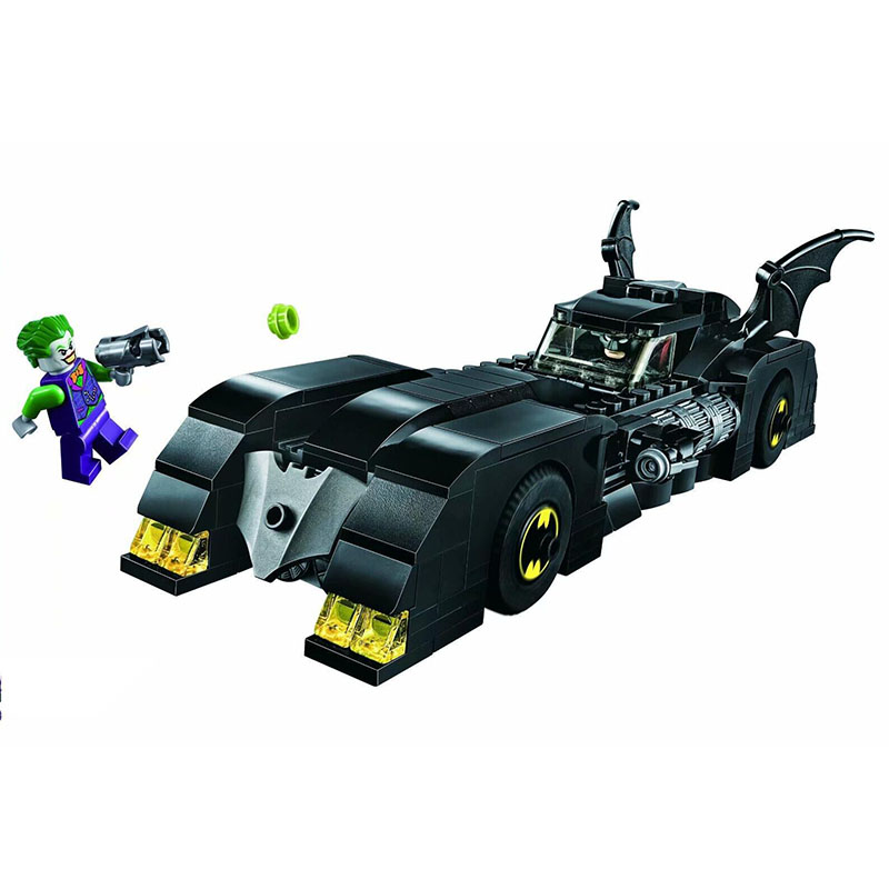 2019 NEW Bela 11351 DC Super Heroes Series Batmobile: Pursuit of The Joker Building Blocks Brick Kids Toys Christmas Gift 76119 1