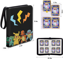 Альбом для карт Pokemon 200-400 шт., книга для мультяшных аниме игр EX GX, папка-держатель для коллекционеров, Список загруженных, классные игрушки, по...