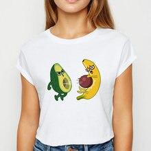 Авокадо и футболки с изображением бананов kawaii; Сезон весна