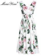 MoaaYina Fashion Designer Female dress Summer Women's