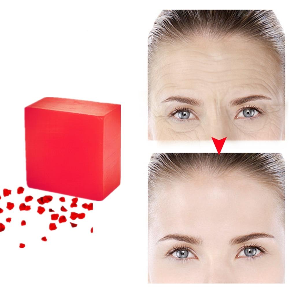 Pure Rose Whitening Essence Handmade Soaps Acne Scar Removal Melasma Repair Nourishing Moisturizing Makeup Remover Plant Soaps