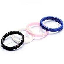 Jing Jiang 3 мм кольцо Белый Черный Синий Розовый модное простое ручное керамическое кольцо для женщин качественное Ювелирное кольцо подарок для женщины