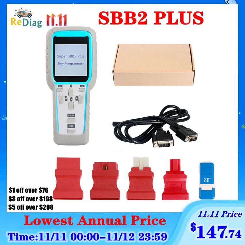 Super SBB2 PLUS Auto Key Programmer In Immobilizer Units On Vehicles SBB2+ V2019.03.18 OBD Version V30.18 For Multi-Brands Cars