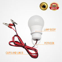 Low voltage DC12V light bulb with clip bulb night market sta