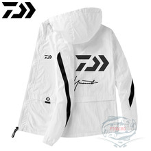 2020 Daiwa Outdoor Long Sleeve Sunscreen Fishing Clothes Waterproof Breathable Jacket