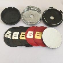 4 pçs 56mm 60mm 65mm 68mm modificação emblema do carro centro da roda hub tampas emblema tampas da etiqueta da roda acessórios de estilo do carro