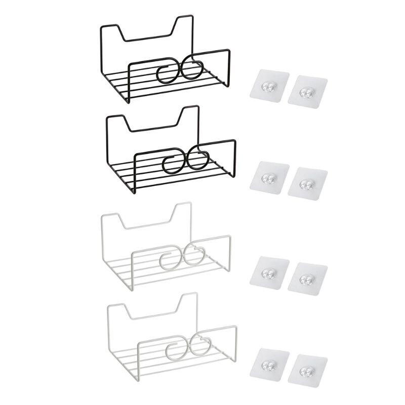 Iron Bag Storage Rack Kitchen Cabinet
