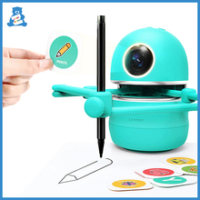 Montessori Kids Pictures Drawing Robots Technology Baby Automatic Painting Learning Machine Intelligence Toys Robot for Drawing